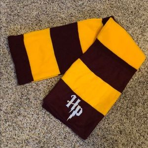Harry Potter Gryffindor red/yellow cotton scarf
